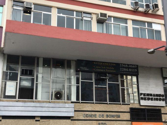 SALA COMERCIAL, 17 M², TIJUCA - PRAÇA SAENS PEÑA 9