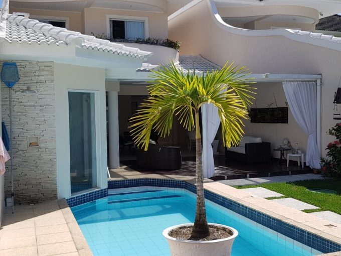 Casa na Barra no Condominio Rio Mar Classic, 700m², 5 suíttes, segurança 24hs e lazer 2