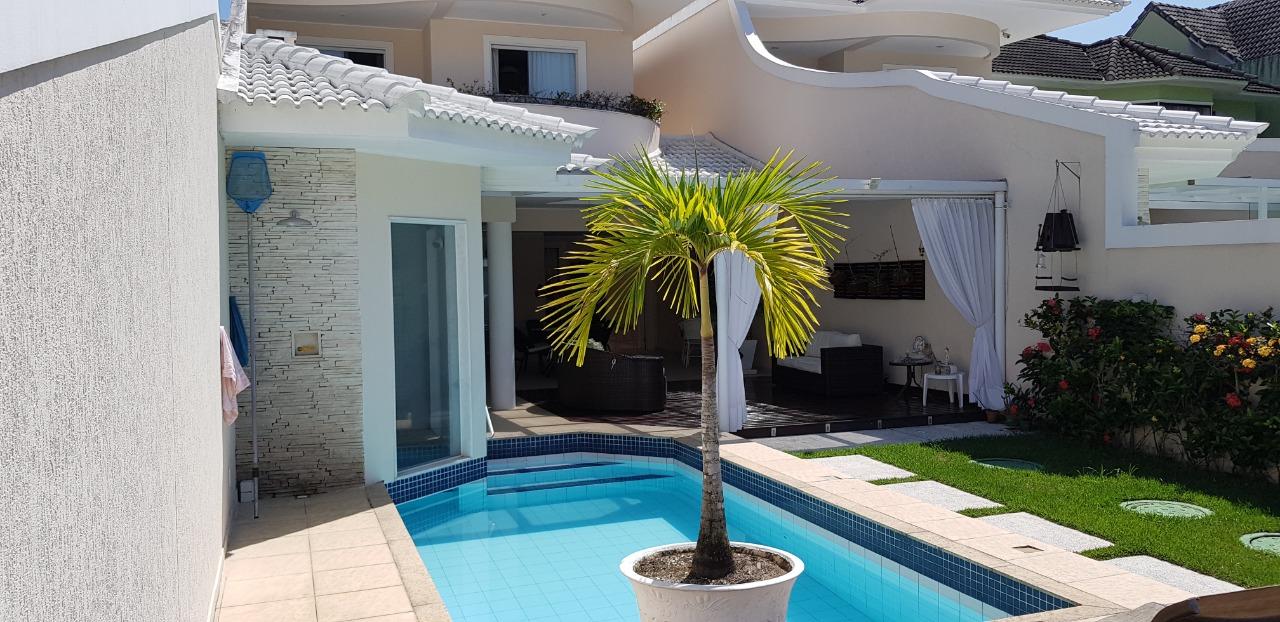 Casa na Barra no Condominio Rio Mar Classic, 700m², 5 suíttes, segurança 24hs e lazer