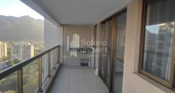 Apartamento de 82m² com 3 quartos no Recreio dos Bandeirantes. 2